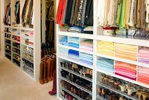 Closet Organization / All dream homes have a 'Fabulous' walk-in-closet!