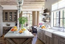 Kitchens and Pantry's / Visually inspiring ideas to create the most functional and beautiful kitchens and pantry's. Enjoy the room everyone lives in the most!