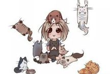 Cat - Cat Lady / by Ardith
