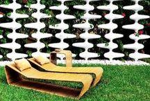 Mid-Century Mod Backyard Inspiration / Mid-Century Modern Garden, backyard and outdoor design inspiration. / by Modwalls Tile