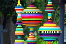 Fun Funky Colorful Kids / Fun Funky Colorful Kids ~ Live Your Colors! / by Modwalls