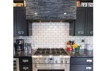 Black and White Tile / Tiles designs that are a mix of black and white
