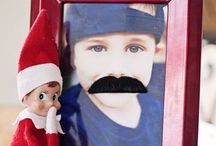 Elf-On-The-Shelf / The joys, fun, and memories created with your little Santa's helper.