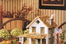 Gingerbread House / The beautiful and edible art of gingerbread houses.