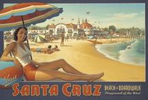 Santa Cruz, CA / Surf City and so much more! The home of Modwalls Tile Company too.
