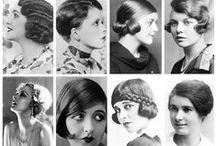 Coiffures femmes Années Folles / Présenter les coiffures femmes des Années Folles, cheveux et accessoires