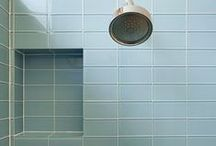 Tiled Shower Niches / Niches are neat! Here are some good ones. / by Modwalls Tile