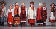 New series inspiration / Embroidery, installation, costume, it's all part of a new series about Russia.