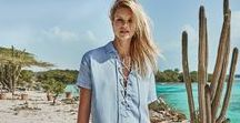 caribbean castaway / summer '16 / Featuring model Nadine Leopold and shot in the Netherlands Antilles.