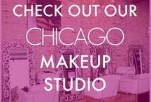 OUR MAKEUP STUDIO / This is our Chicago Makeup Studio.   In our makeup studio, we offer group makeup classes and private one on one makeup lessons.   Are you a bride, thinking of doing your makeup yourself?  We also offer do it yourself makeup classes for brides.   Come have a visit! :)