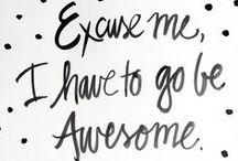 Frases que eu amo / Frases inspiradoras que são sempre bem vindas!