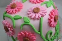 crazy cakes...! / amzaing cakes, that POP and have a ton of color!