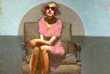 Peintre M. CARSON