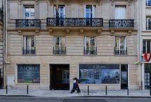 Architectures à... Paris / Patchwork de réalisations Nacarat en Ile-de-France