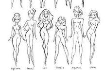 BD's Femmes Dessins