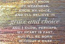 True Words... / Some Words of Wisdom