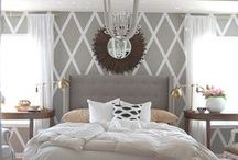 Cozy Glam Bedroom / Working on a master bedroom design plan and these are my inspiration pics
