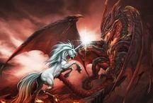 dragon art / by Richard Pekamu