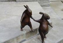 скульптурные композиции / украшение окружающей среды