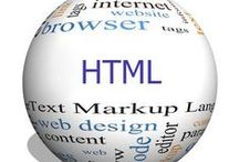 HTML / HyperText Markup Language, commonly referred to as HTML, is the standard markup language used to create web pages.