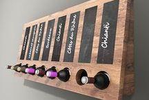 Decorative whine storage / Leuke, originele en verassende ontwerpen van wijnrekken, kasten en stellingen.
