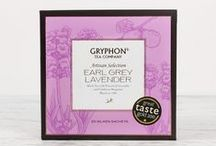 Artisan Selection: Earl Grey Lavender / This delicate black tea needs no introduction. Feeling a little under the weather today? Relax your senses with this fragrant black tea blend.