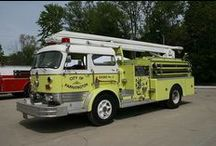 ANTIQUE FIRE APPARATUS / by John Maguire