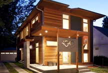 Urban Green by Eric Odor / The Urban Green House is a small home on a small lot with a small energy friendly footprint. Architect Eric Odor with SALA Architects.