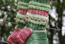 Gloves, mittens, socks / by Alenka MK