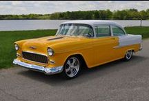 55-56-57 CHEVY / by John Maguire