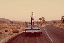 road trip inspiration / From California to Arizona, Nevada, Utah. Desert wanderlust.