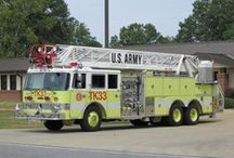 MILITARY FIRE TRUCKS / by John Maguire