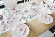 Gute Stube - Tischdekoration