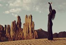 ☾✮ dunes dweller ✮☽ / Inspiration for Pismo Dunes shoot || A collection of images with western influence, bohemian vibes and a general expression of the free spirit.