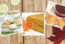 Repostería con ingredientes de la huerta para Mycook / Zanahoria, calabaza, calabacín, pimientos... son algunos de los ingredientes que entran con fuerza en la repostería para darle un toque especial a nuestros postres y mermeladas. ¿Te apuntas?