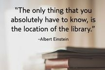 Reading - Quotes to Inspire! / We at South Devon College love our library and love to curl up with a good book  -  the quotes below do a good job of explaining why!