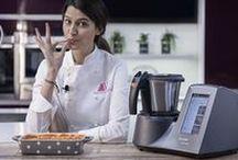 """Las recetas de Andrea en el Club Mycook / La finalista de MasteChef 3 Andrea Vicens comparte en el Club Mycook sus """"cuquirecetas"""" preparadas con Mycook Touch."""