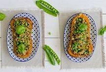 Recetas con verduras de verano para Mycook / Recetas para inspirarte con las verduras más frescas del momento durante los meses veraniegos de julio, agosto y septiembre.