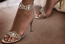 Bridal Shoes / www.katherinecourtney.com