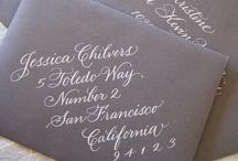 Wedding Invitations / www.katherinecourtney.com