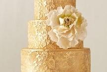 Gold Weddings / www.katherinecourtney.com