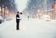 Winter Weddings / www.katherinecourtney.com