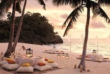Beach Weddings / www.katherinecourtney.com