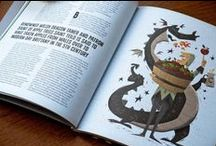 """Hot Rum Cow / A series of illustrations for UK magazine 'Hot Rum Cow""""."""