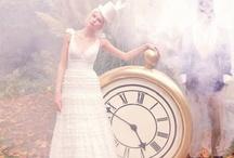 Alice in Wonderland Weddings / www.katherinecourtney.com