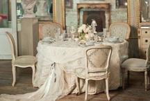 Shabby Chic Weddings / www.katherinecourtney.com