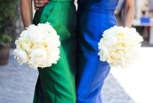 Blue and Green Weddings / www.katherinecourtney.com