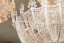 Chandelier Weddings / www.katherinecourtney.com