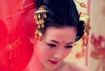 Chinese Inspired Weddings / www.katherinecourtney.com