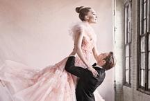 Pink Wedding Dresses / www.katherinecourtney.com